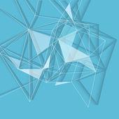 Fond bleu abstrait — Vecteur