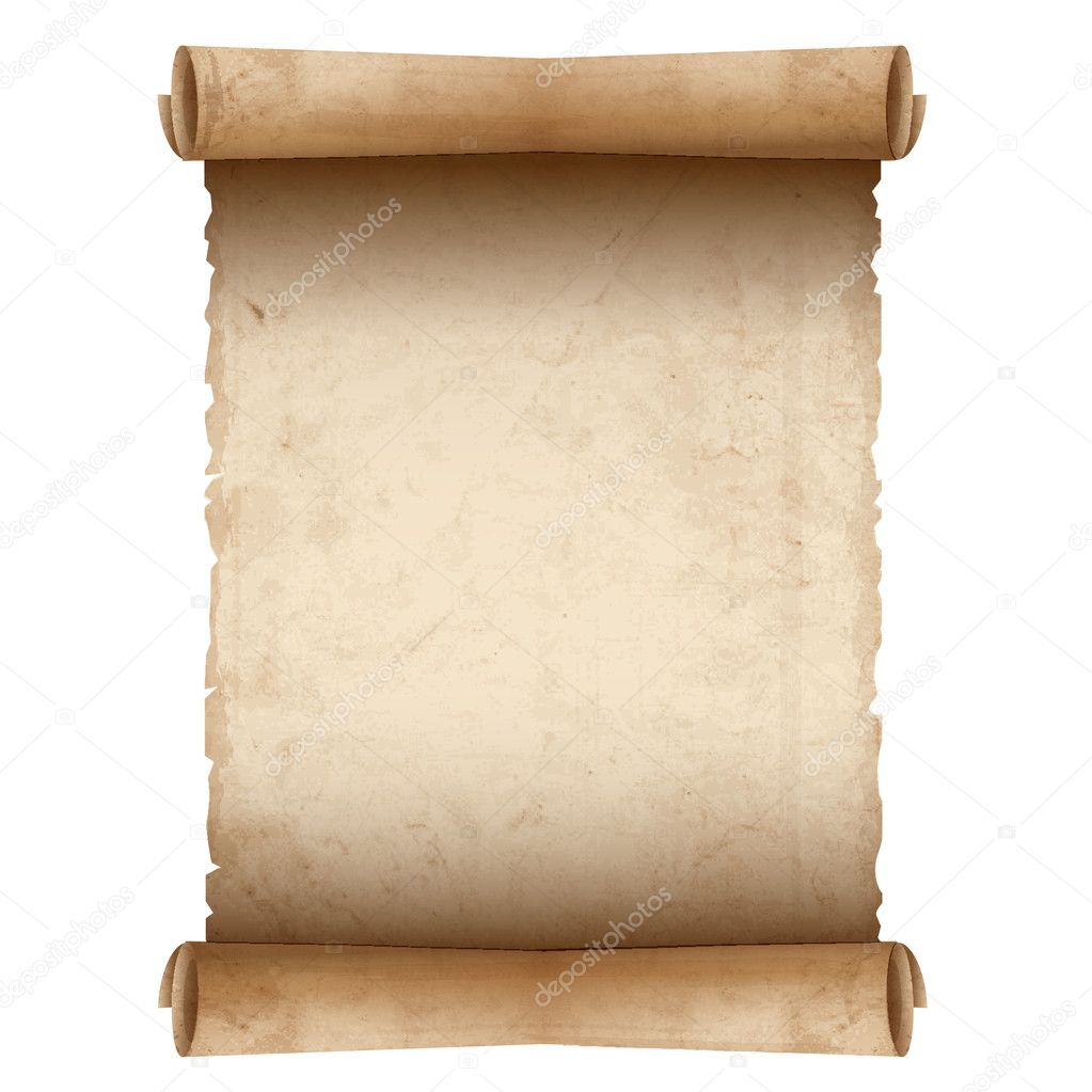 Papel de pergam... Diploma Scroll Vector