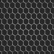 monokromatik petek Dikişsiz desen arka plan — Stok Vektör