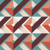 Abstrato com formas geométricas — Vetorial Stock