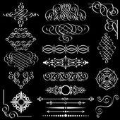 Set of design elements — Stock Vector