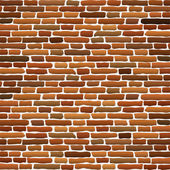 Old brick wall — Stok Vektör