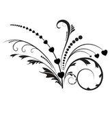 Swirly ornamento decoração — Vetorial Stock