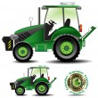 Stock Vector: Tractor (Agric version)