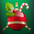 Christmas theme background - Stock Photo