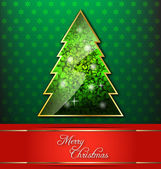 Christmas-themed decorative wallpaper — Stock Vector
