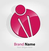 Abstract brand logo/logotype — Stock Vector