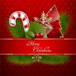Merry Christmas Background — Stock Vector #16334289