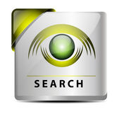 Search button/icon — Stock Vector