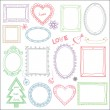 Doodle frames — Stock Vector #33882833