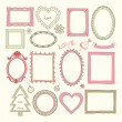 Set of doodle frames and other elements — Stock Vector #41589087