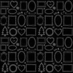 Seamless doodle frame set — Stock Vector #41589095