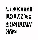ABC set — Stockvektor