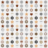 Flower seamless pattern — Stockvector