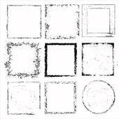 Grunge frames — Stockvector