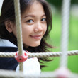 Asian teen girl — Stock Photo