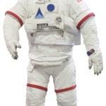 blanco aislado astronautas — Foto de Stock