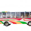 Stock Photo: Old bus isolated white