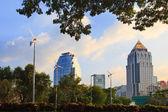 бангкок от парка лумпини — Стоковое фото