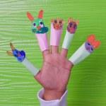 palec zabawki — Zdjęcie stockowe