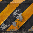 Royalty-Free Stock Photo: Yellow and black line of road traffic line
