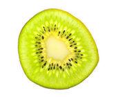 Kivi fruit isolated on white — Stock Photo