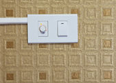 Switch of electric appliance — Stock Photo