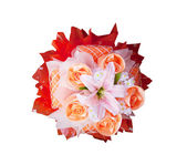 Roses bouquet flower use for decoration — Stock Photo