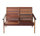 Old wood chair — Stock Photo