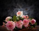 Still life of rose bouquet flower — Stock Photo