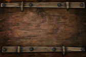Wood with free space western style — Stock Photo