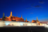 Wat prakeaw grand palace bangkok thailand — Stock Photo