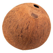 Special single hole of coconut shell difference other — Stockfoto