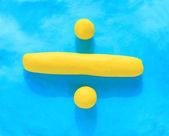 Division symbol — Stock Photo