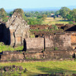 Prasat wat phu champasak southern of laos one of two laos world heritage site — Stock Photo