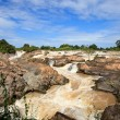 Liphi water fall or mekong river in champasak southern of laos one of destination in south east asia — Zdjęcie stockowe