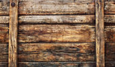 Old dirty wood broad panel used as grunge textured background ba — Stock Photo