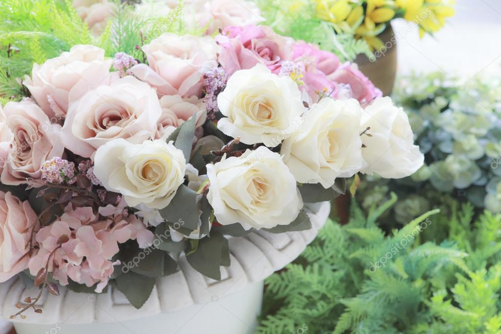 bouquet de fleurs pastel. Black Bedroom Furniture Sets. Home Design Ideas