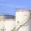 Постер, плакат: RFM extract chemicals tank strorage in petrochemical refinery pl