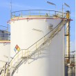 RFM extract chemicals tank strorage in petrochemical refinery pl — Stock Photo #51260799