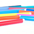 Stock Photo: Multicolored felt pens