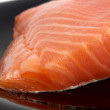Yummy portion of salmon — Stock Photo