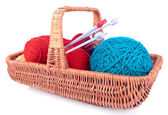 The set for knitting — Stock Photo