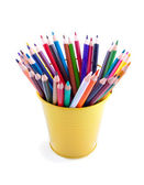 Vibrant  batch of the pencils — Foto de Stock