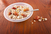 Cereal breakfast — Stock Photo