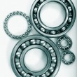 Gear wheels, bearings — Stock Photo