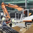 Construction works and heavy machinery - 