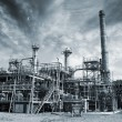 Oil, gas and fuel industry — Stock Photo