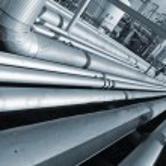 Pipeline constructions — Stock Photo