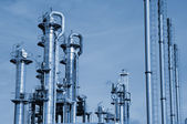Oil and gas power industry — Stock Photo
